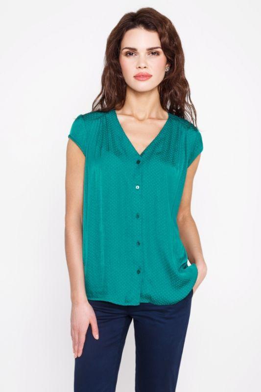 Блузка Зеленого Цвета С Доставкой